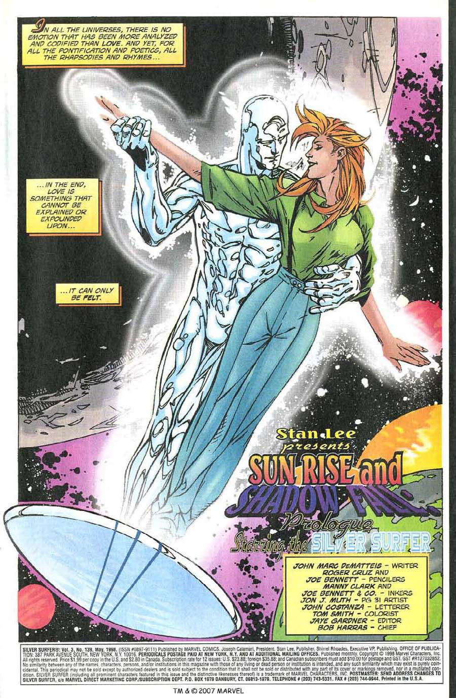 Read online Silver Surfer (1987) comic -  Issue #139 - 5