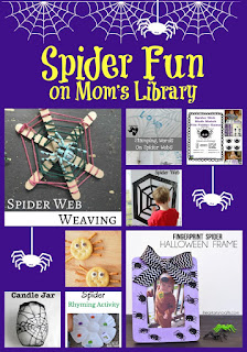 Spider Fun from Mom's Library