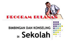 Program Bulanan BK SD, SMP, SMA Kurikulum 2013