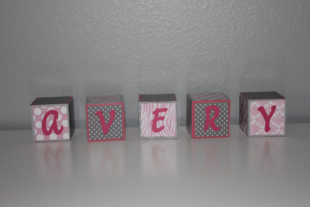 Mini Piccolini - DIY Name Blocks
