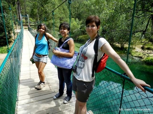 Escapada al parque natural del alto tajo mis viajes y for Piscinas naturales guadalajara