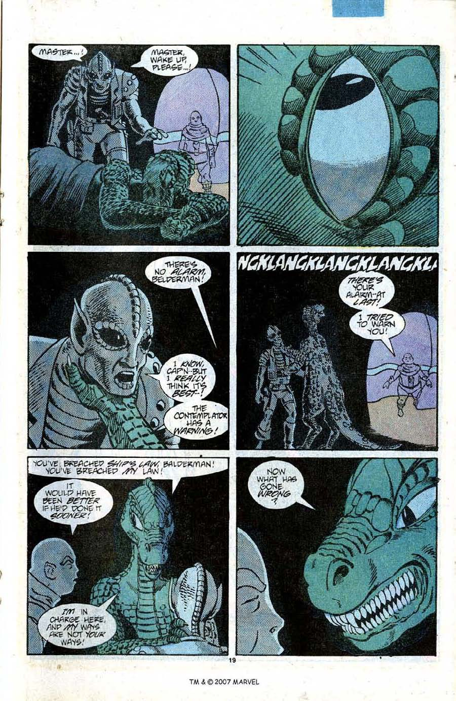 Read online Silver Surfer (1987) comic -  Issue #12 - 21