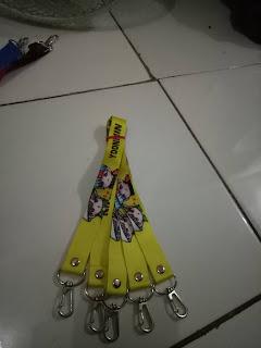 Jual tali lanyard custom murah di Jakarta