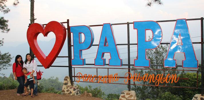 Panorama Pabangbon atau disingkat wisata PAPA di bogor