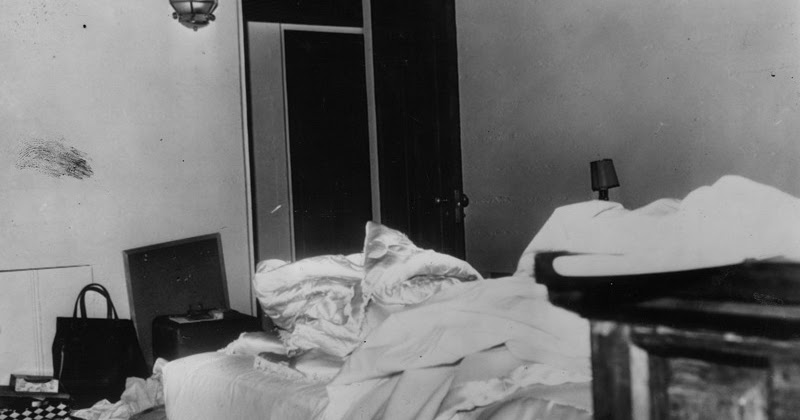 Rare Photographs Show the Bedroom in Which Marilyn Monroe Was Found Dead on August 6, 1962