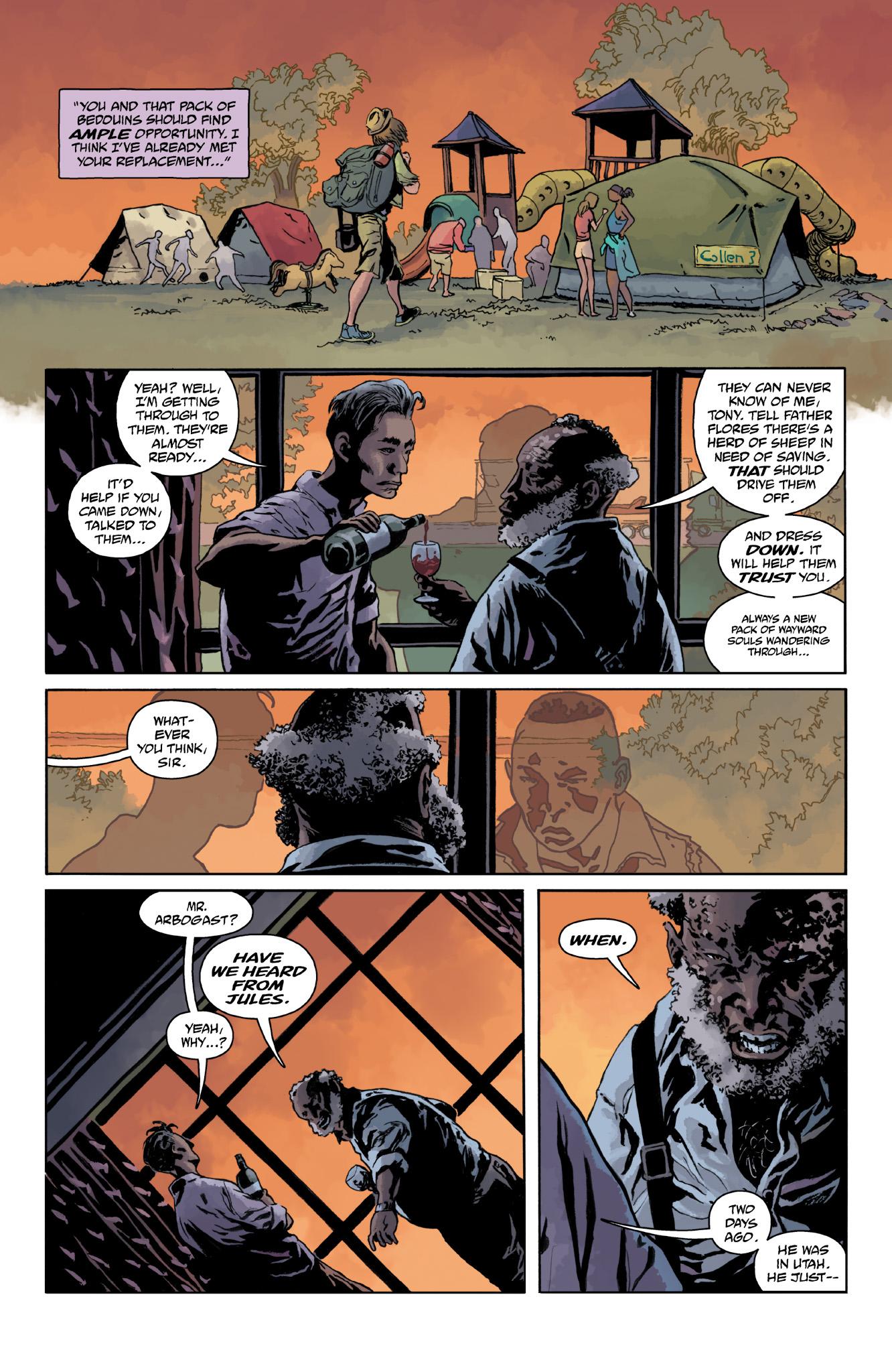 Read online Abe Sapien comic -  Issue #18 - 21