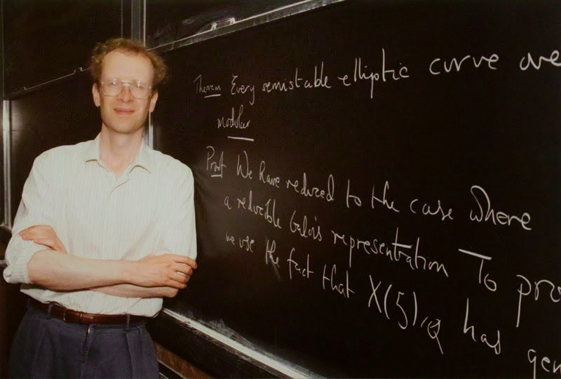 Sir Andrew Wiles – IQ 170