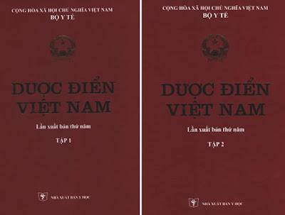 Bìa dược điển Việt Nam V 5