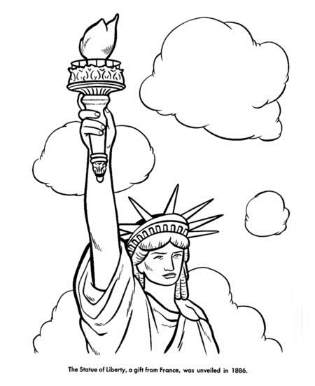 4th of July Coloring Pages for Free >> Disney Coloring Pages