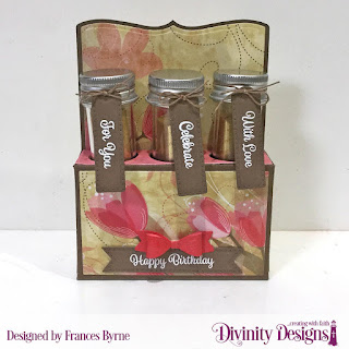 Stamp Set: Treat Tag Sentiments 3  Custom Dies:  Test Tube Trio,   Paper Collection:  Beautiful Blooms  Test Tubes - Small