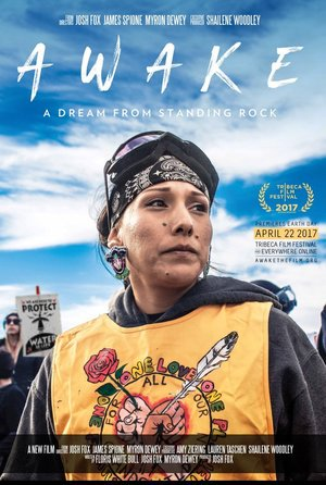 Poster Awake, a Dream from Standing Rock 2017