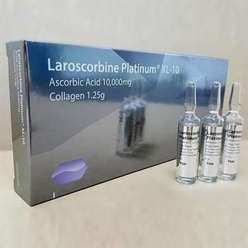Suntik Pemutih Badan Laroscorbine Platinum XL-10