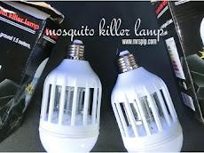 Halau nyamuk cara sihat dengan 'mosquito killer lamp'
