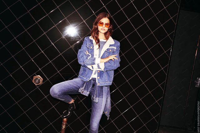 Moda jeans otoño invierno 2018.
