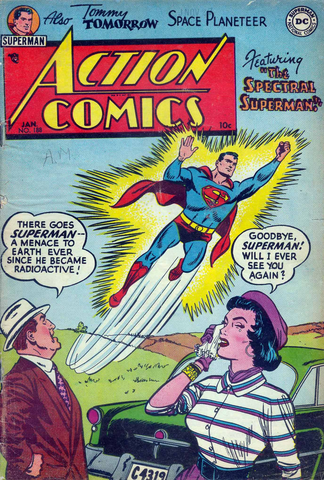 Action Comics (1938) 188 Page 1