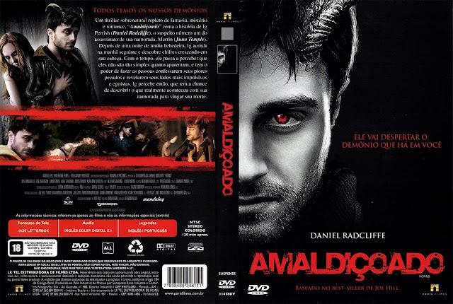 Capa DVD Amaldiçoado