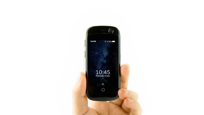 تعرف على جيلي، أصغر هاتف ذكي في العالم!