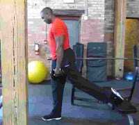 Rear Leg Elevated Split Squat