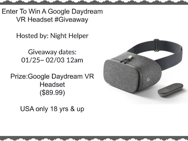 Google Daydream VR Headset #Giveaway