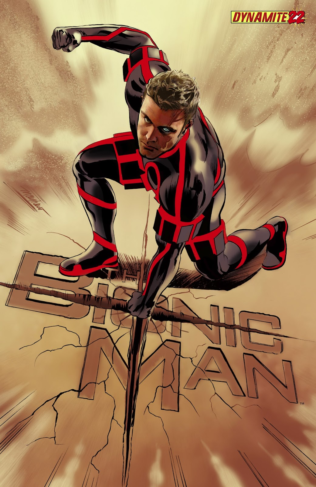 Bionic Man 22 Page 1
