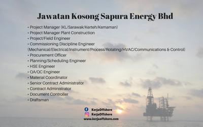 Jawatan Kosong Sapura Energy Bhd