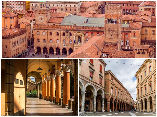 Італійське місто студентів - Болонія