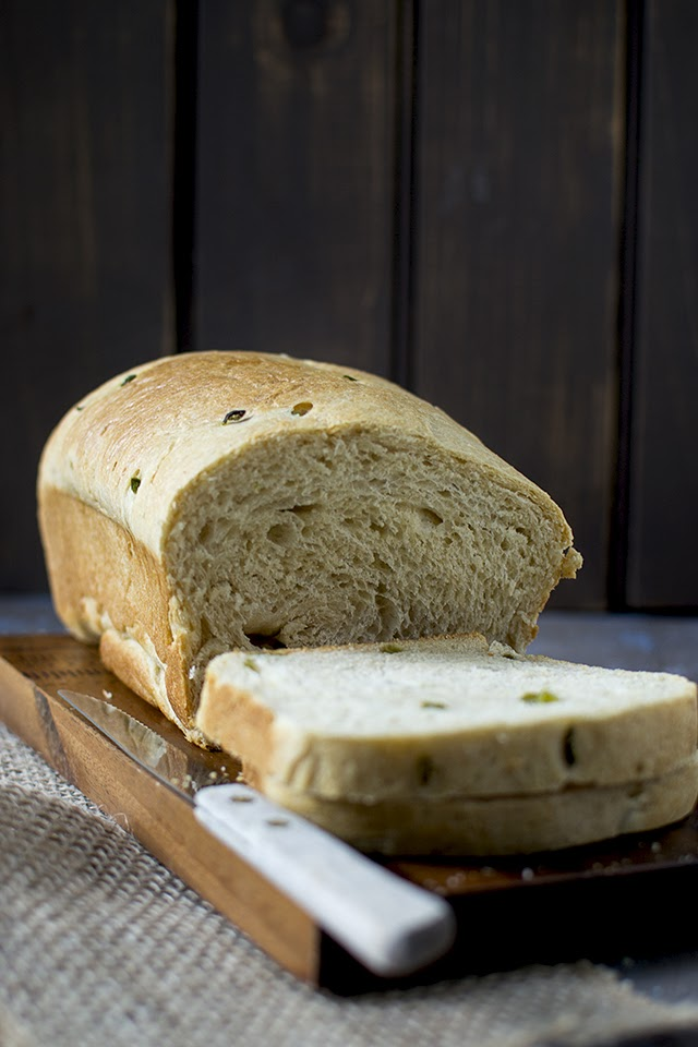 Indian Style Jalapeño Bread