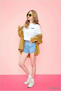 model Gaya Casual Hot Pants ala korea