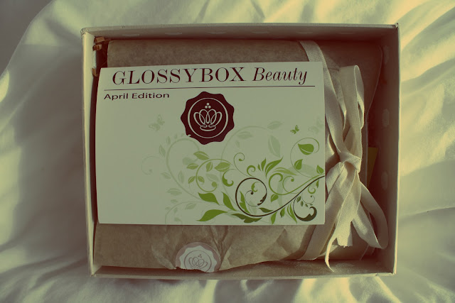 Glossybox April Edition packaging