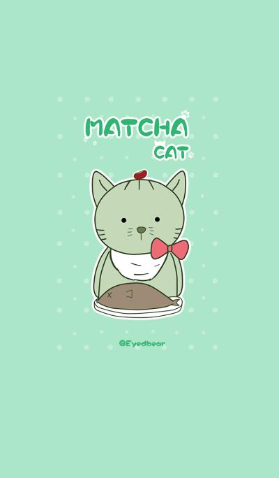 Matcha Cat so cute