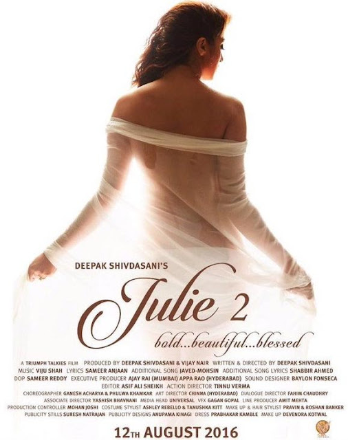 Julie 2 Telugu Movie First Look Hot Poster