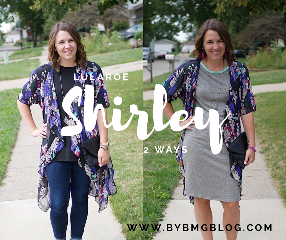 2a8ccdb0c1a67 bybmg  2 Ways to Wear the LuLaRoe Shirley