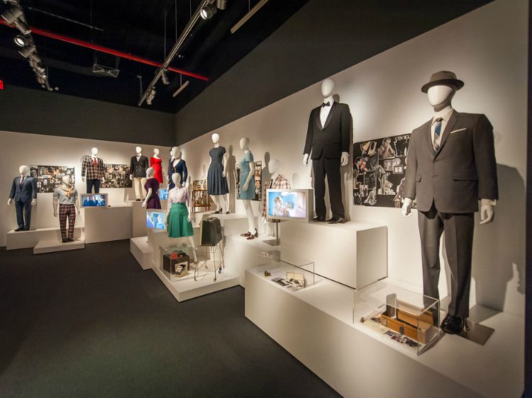 A Vintage Nerd Museum of Moving Image Movie Museum in NY MadMen Exhibit 1960s Tv Show Madmen Vintage Blog Madmen Fashion