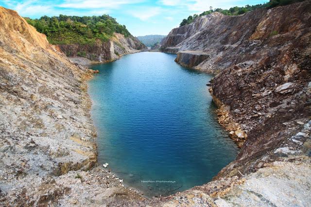 Tasik Pepsi Blue, Rusila, Marang, Terengganu
