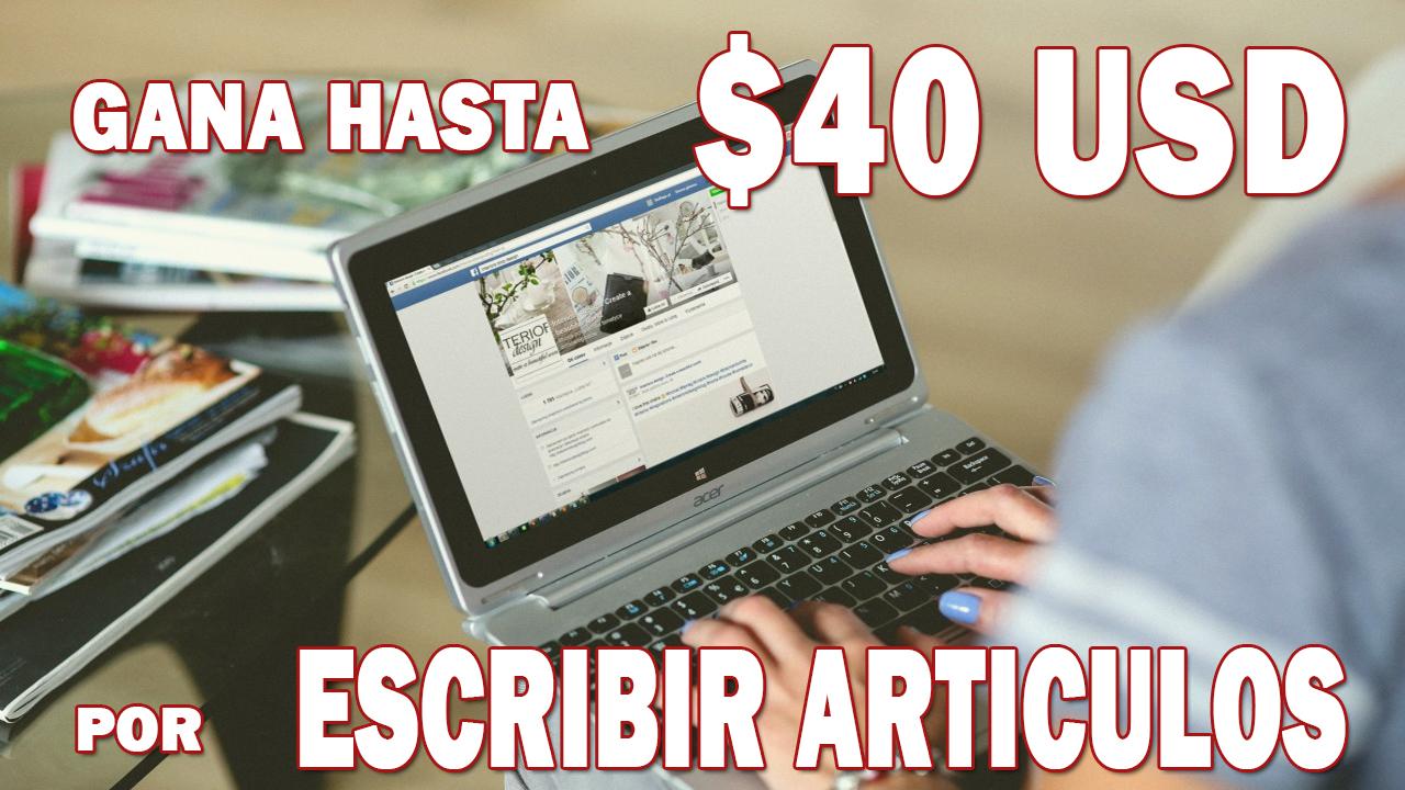 TextBroker: gana hasta $40 usd escribiendo en Internet
