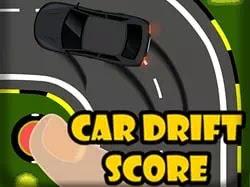 Skorlu Araba Kaydırma - Car Drift Score