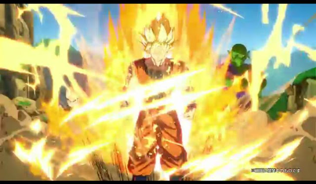 Second screenshot from Dragon Ball FighterZ story trailer