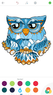 Dessins de Coloriage Hibou Owl%2BColoring%2BPages%2BAndroid%2BScreenshot%2B2