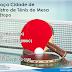 3ª etapa a VII Taça Cidade de Registro-SP de Tênis de Mesa será no dia 15/06