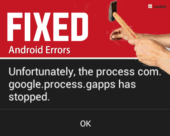 [FIX] Unfortunately, the process com.google.process.GAPPS has stopped 2020 | Solved Android Error