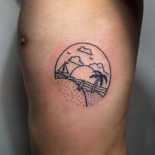 tatuaje playa