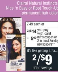 Clairol cvs deals