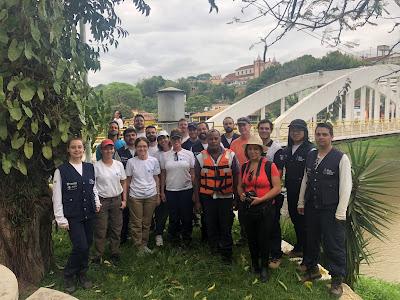 ANA, CPRM e USGS promovem o Programa de Revisão Técnica na Rede Hidrometeorológica Nacional de Referência em São Paulo