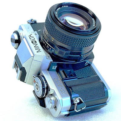 Minolta X-500, Minolta MD 50mm f/1.4