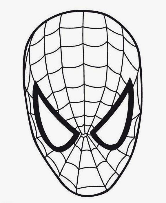 Coloriage En Ligne Visage.Coloriage Visage Spiderman Coloring Face Coloriage En Ligne
