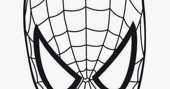 Coloriage Visage Spiderman Coloring Face