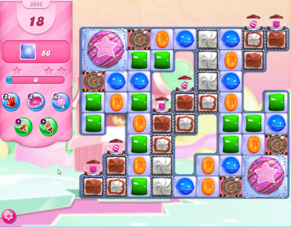 Candy Crush Saga level 3698