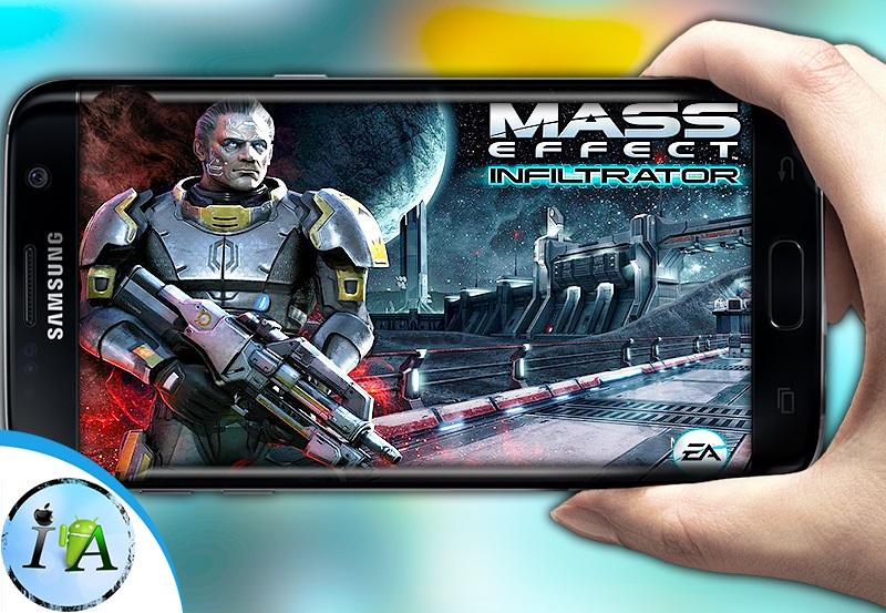 تحميل لعبة الاكشن والاثارة Mass Effect Infiltrator المحذوفة من متجر بلاي ستور