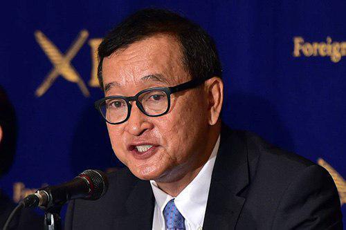 Nouvelle inculpation pour Sam Rainsy...