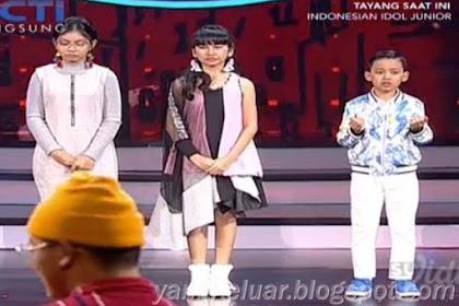 Indonesian Idol Junior 2018 Yang Lolos Babak Spektakuler Show